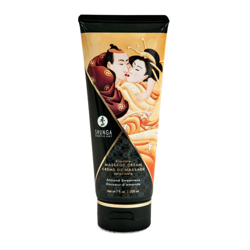 SHUNGA KISSABLE MASSAGE CREAM - ALMOND SWEETNESS 200ml