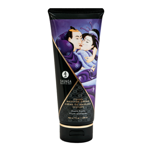 SHUNGA KISSABLE MASSAGE CREAM - EXOTIC FRUITS 200ml