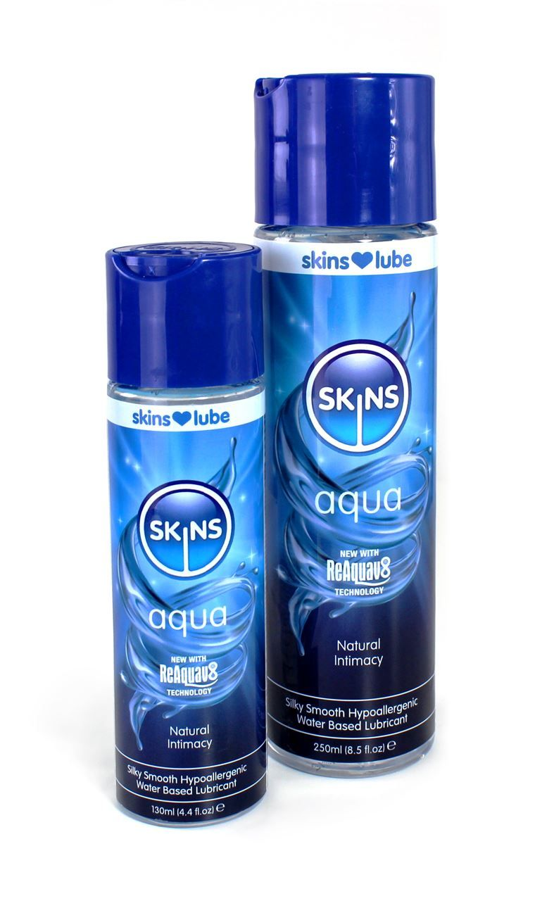 SKINS AQUA WATER BASED LUBE 130ml