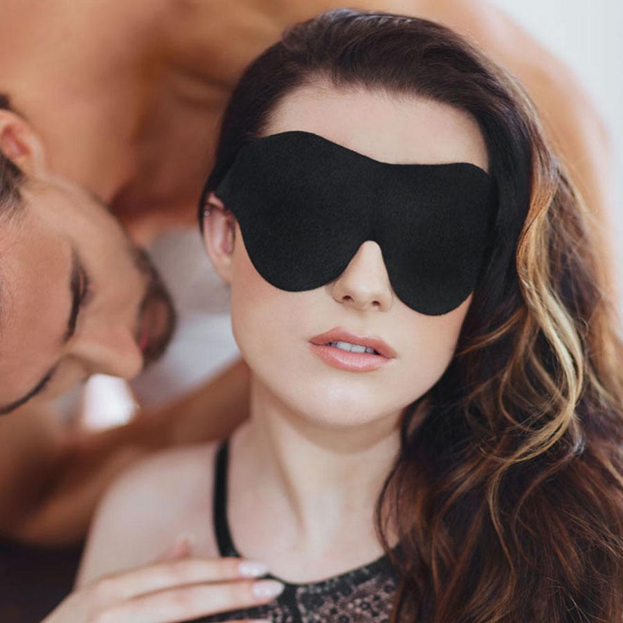 SPORTSHEETS BEGINNERS SOFT BLINDFOLD - BLACK