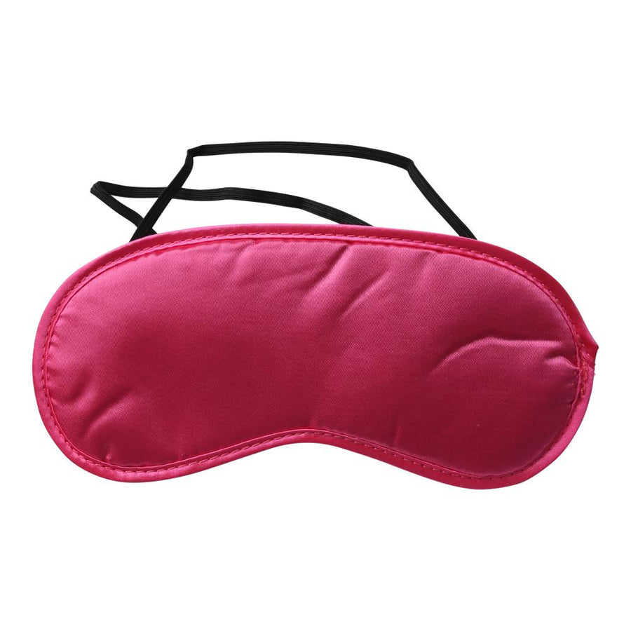 S&M SATIN BLINDFOLD - Hot Pink