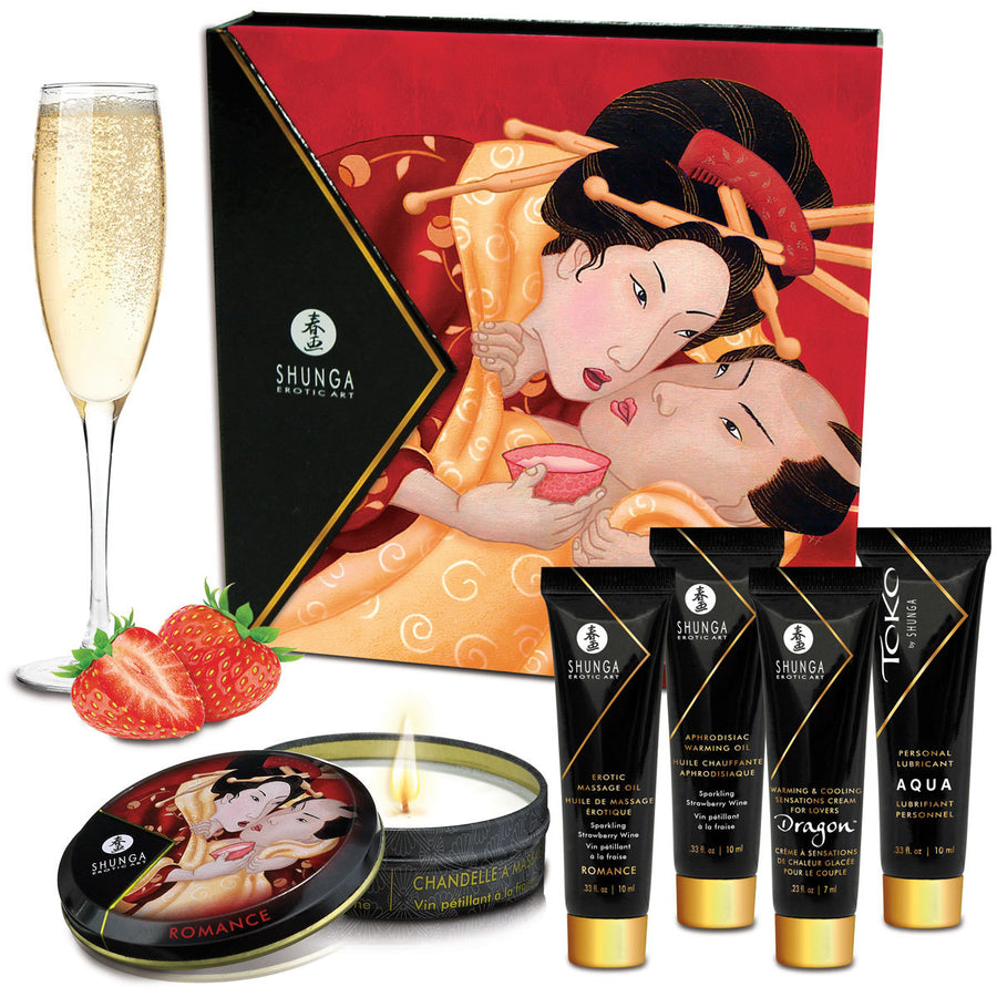 Shunga Geisha's Secrets - Sparkling Strawberry Wine