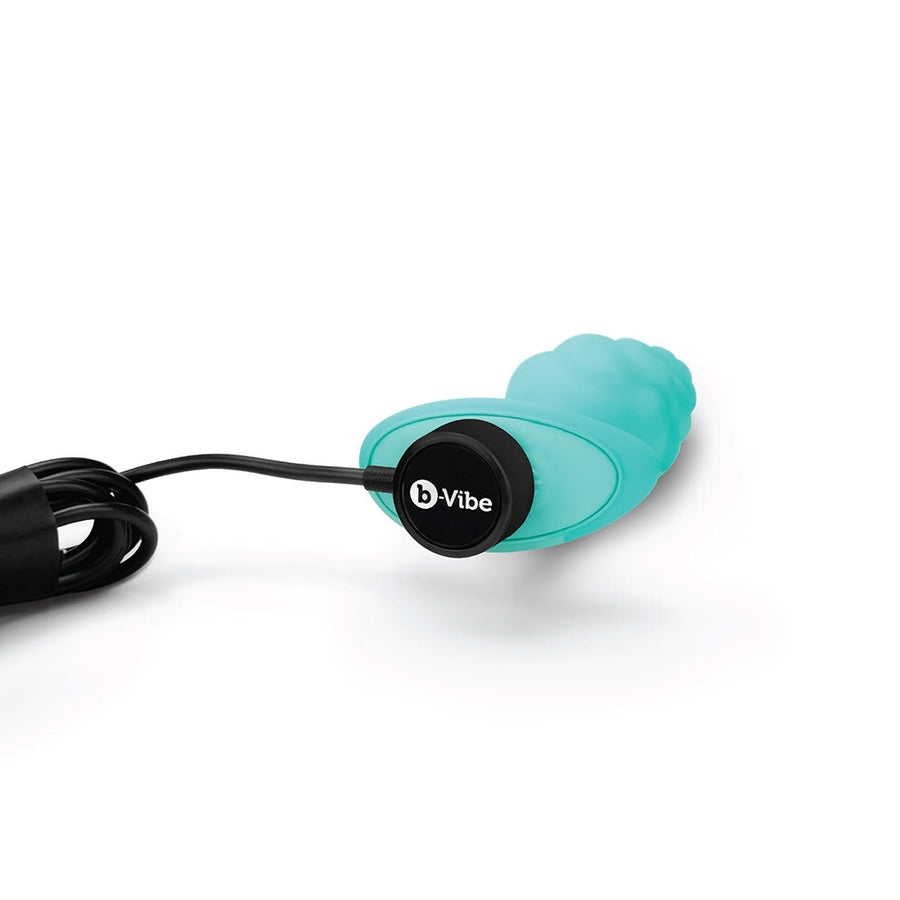 b-Vibe BUMP TEXTURE PLUG MINT SMALL