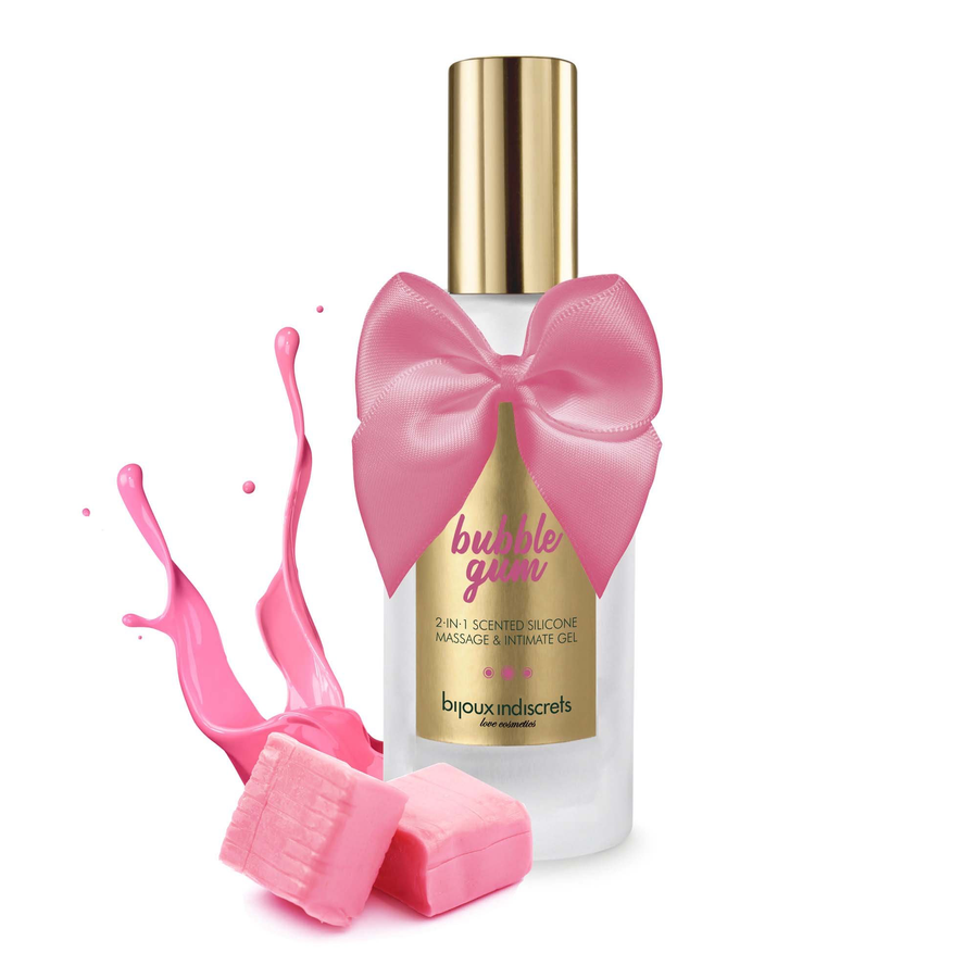BUBBLEGUM · MASSAGE AND INTIMATE GEL