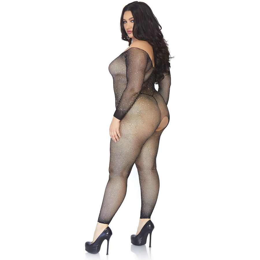 PLUS SIZE VEVIANNE BODYSTOCKING