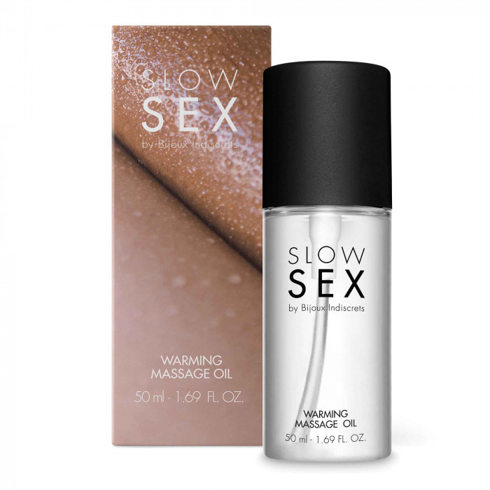 SLOW SEX - WARMING MASSAGE OIL