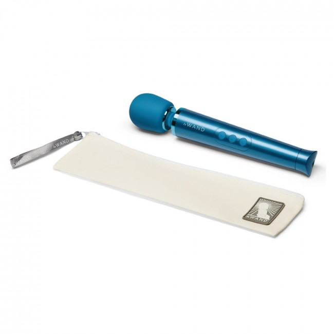 Le Wand Petite Rechargeable Massager- Blue