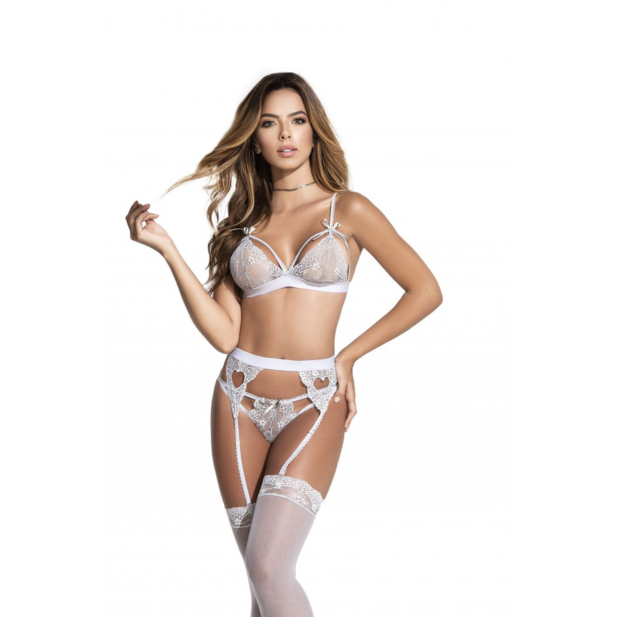 AMY GREY LINGERIE SET (SPECIAL ORDER)