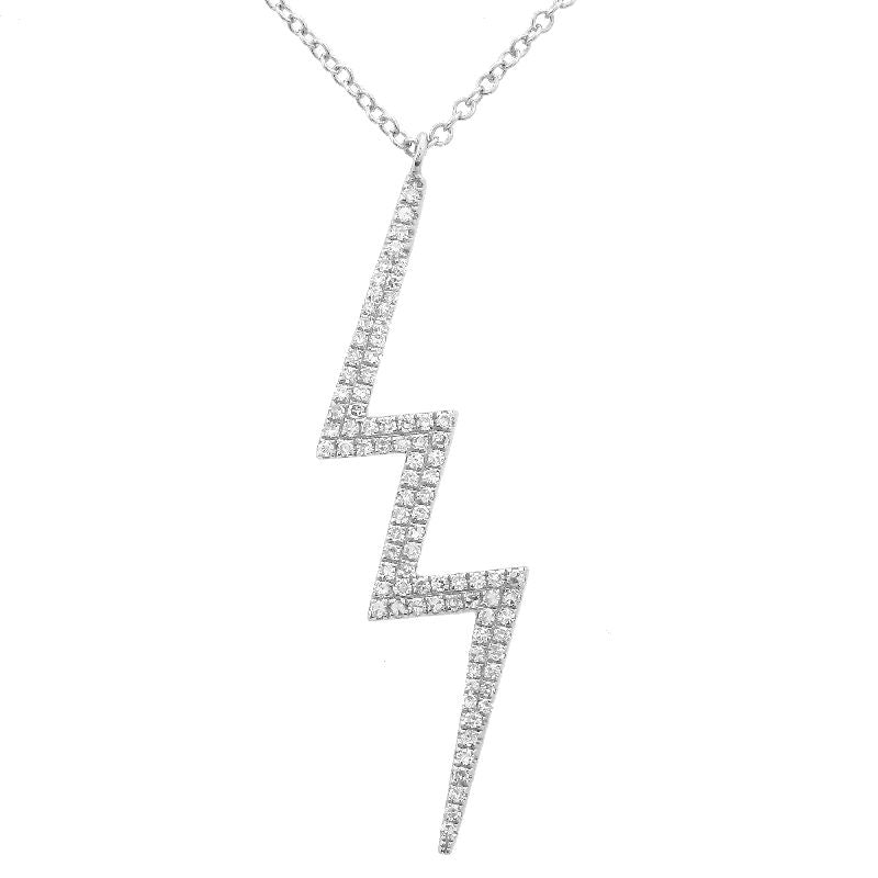 LIGHTNING DIAMOND NECKLACE