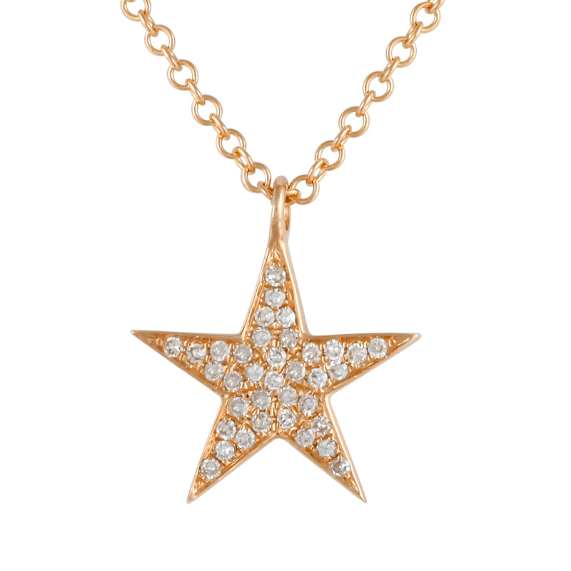 STAR PENDANT WITH CHAIN