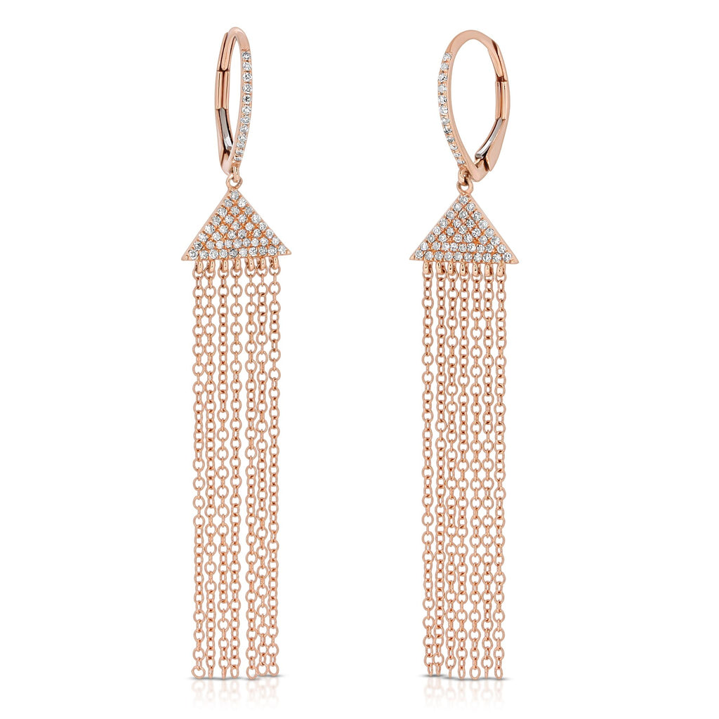 ROSE GOLD ELLE EARRINGS