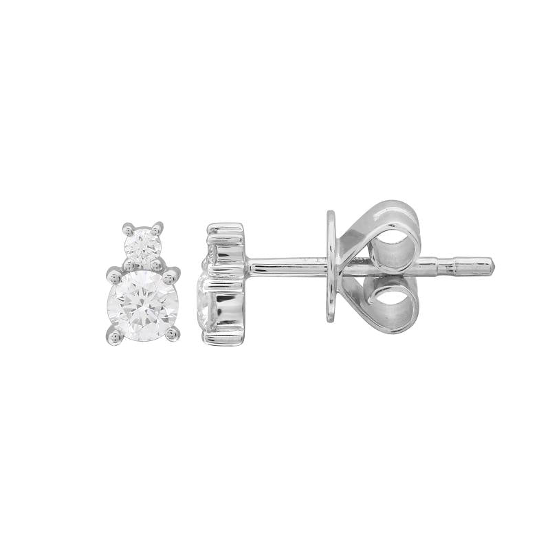DIAMOND BIRTHSTONE STUD EARRINGS