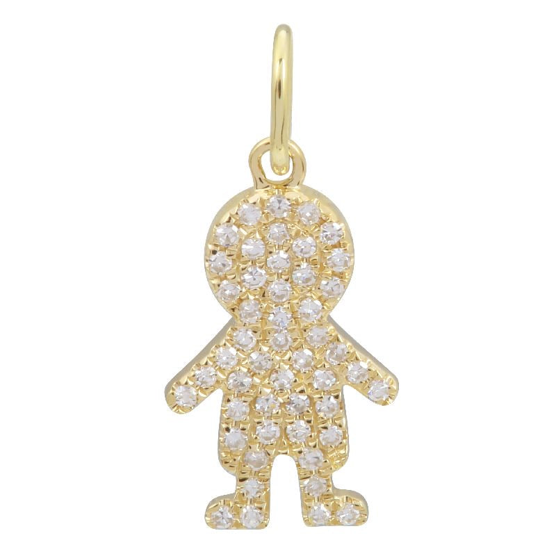 BOY NECKLACE CHARM