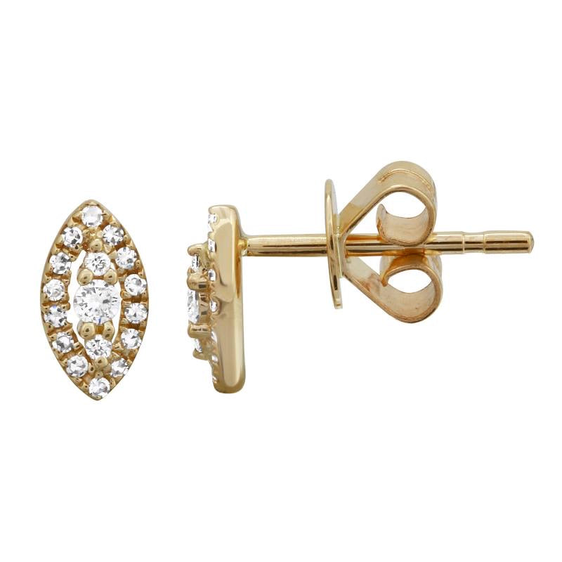 DIAMOND STUD EARRINGS (SOLD AS SINGLE)