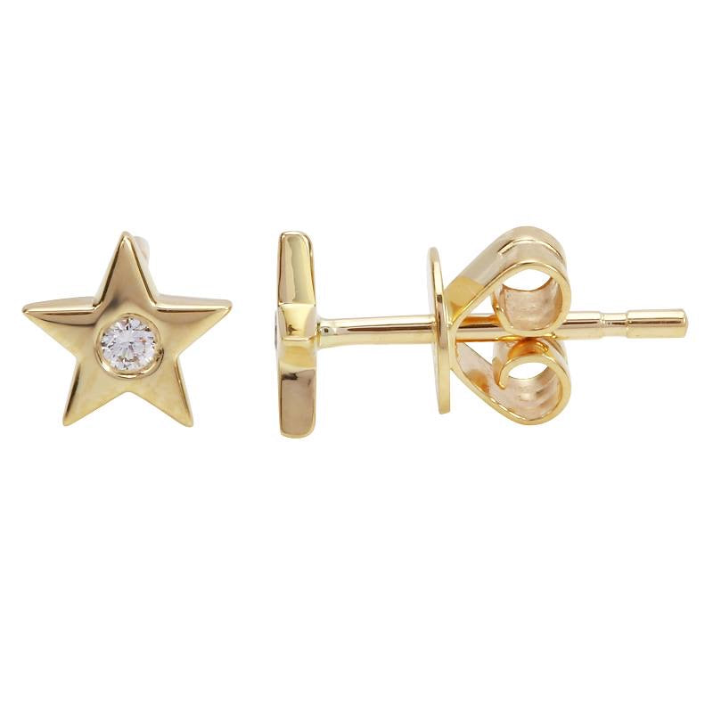 STAR STUD EARRINGS (SOLD AS SINGLE)