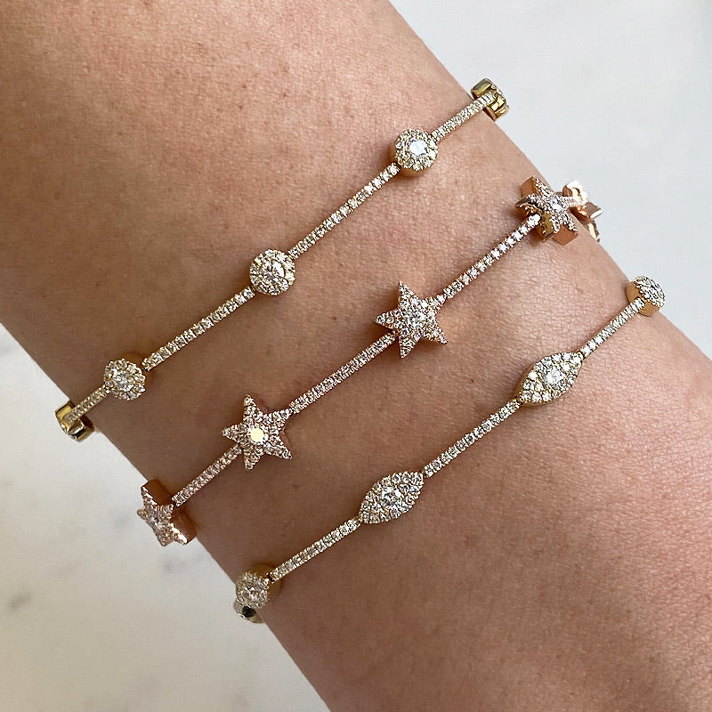 LUCKY EYE DIAMOND BRACELET