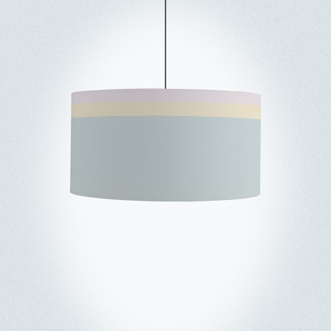 Colour Lines Drum Lamp Shade Diameter 45cm (18