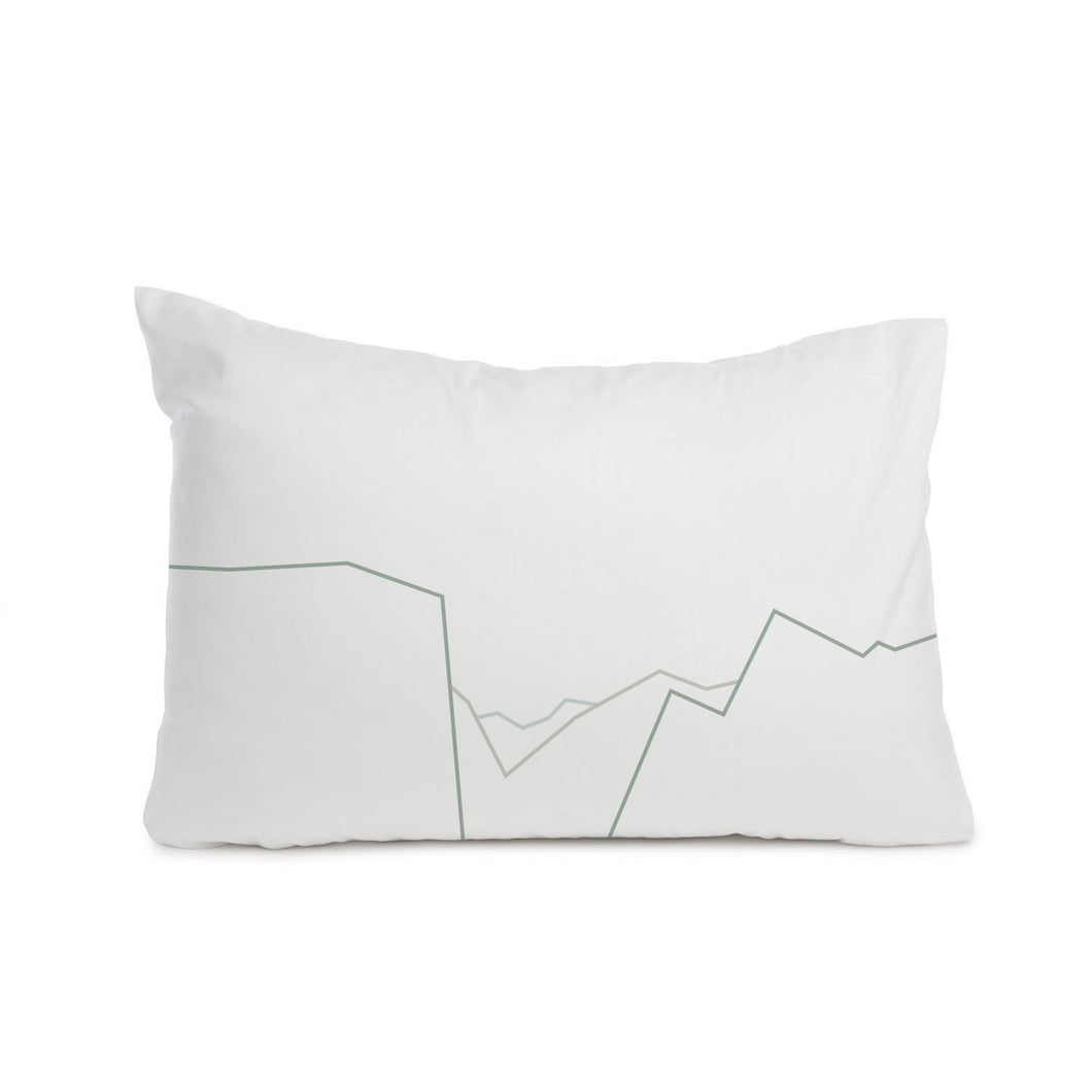 Yosemite Valley pattern pillowcase Cot bed or Standard size - Meretant Decor
