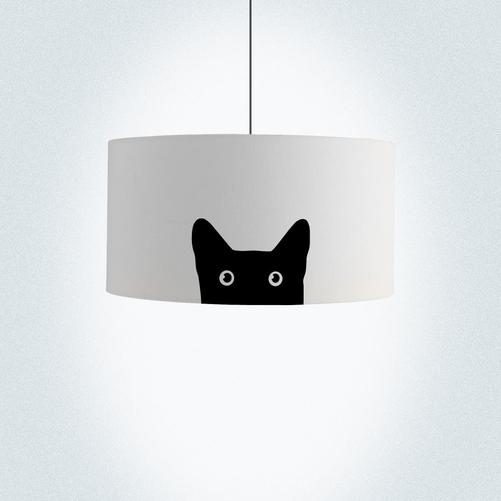Cat Drum Lamp Shade Diameter 45cm (18