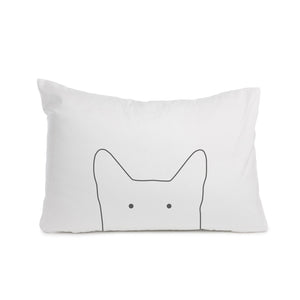 Cat pillowcase Cot bed or Standard size - Meretant Decor