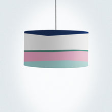 "Load image into Gallery viewer, Flamingos on a beach Drum Lampshade 45cm (18"") - Meretant Decor"