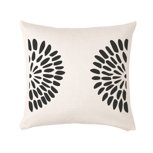 "Flower Cushion cover 50x50cm (20""x20"") Cotton - Meretant Decor"