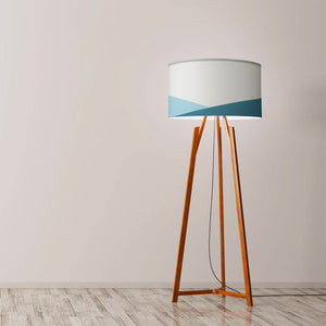 "Ocean Drum Lamp Shade Diameter 45cm (18"") Ceiling or floor lamp - Meretant Decor"