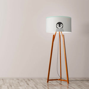"Penguin Drum Lamp Shade Diameter 45cm (18"") Ceiling or floor lamp - Meretant Decor"