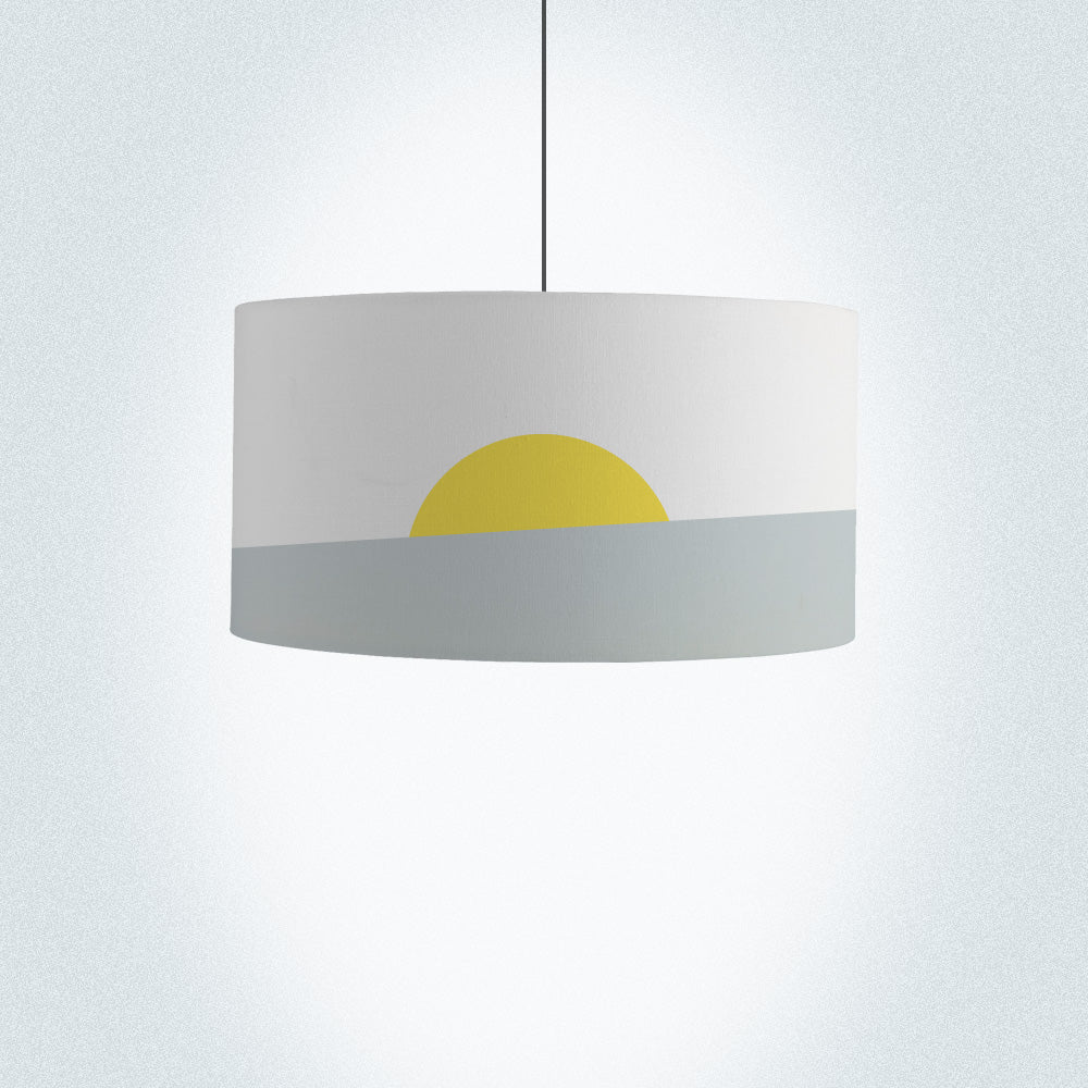 Sunrise Drum Lamp Shade Diameter 45cm (18