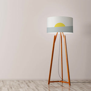 "Sunrise Drum Lamp Shade Diameter 45cm (18"") Ceiling or floor lamp - Meretant Decor"