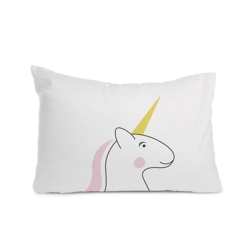 Unicorn pillowcase Cot bed or Standard size - Meretant Decor