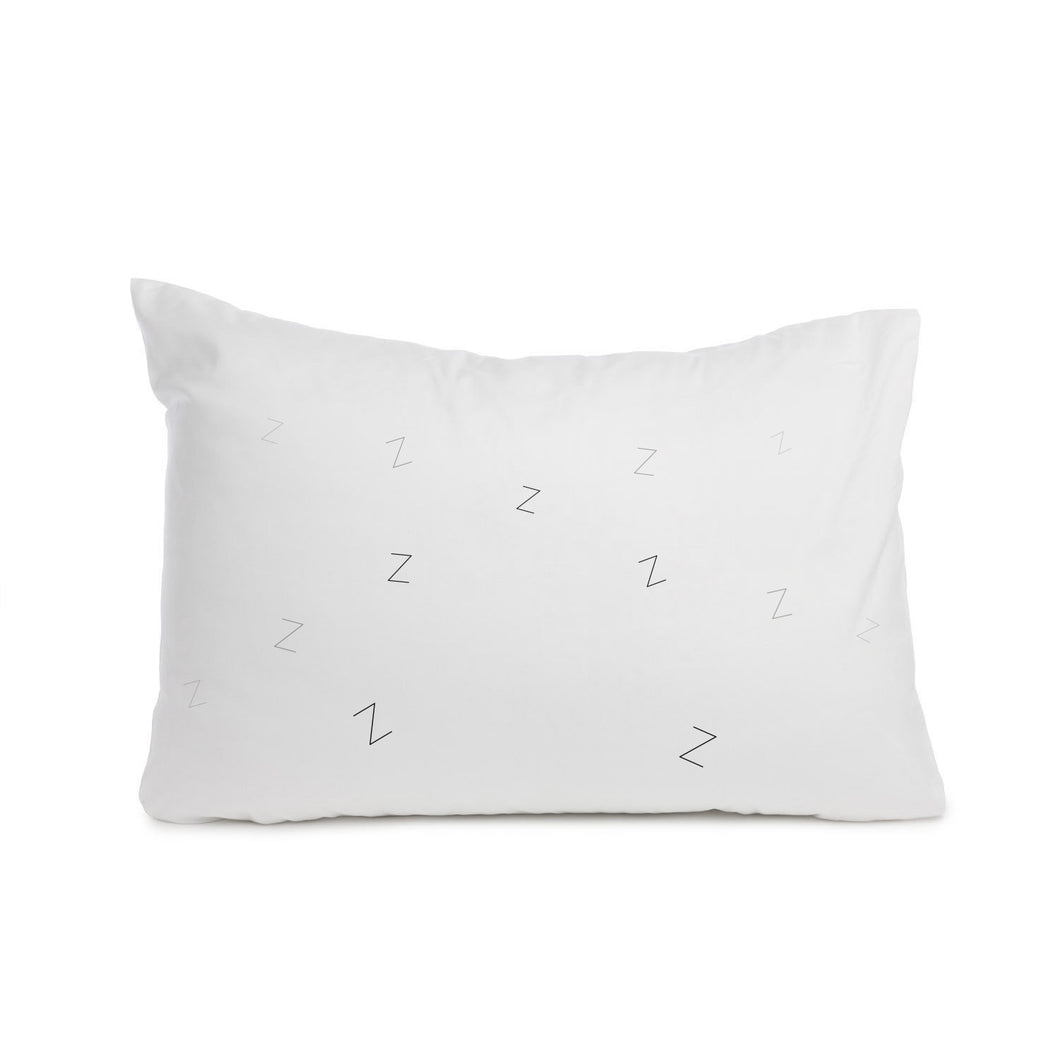Zzz pillowcase. Cot bed or Standard size - Meretant Decor