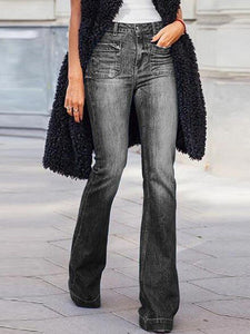 Casual Denim Flares