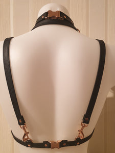 Marica Deluxe Body Harness 3in1 mit Choker