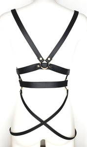 Megan Black - Leder Harness
