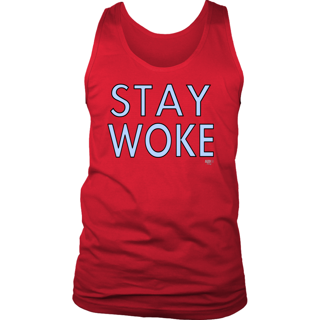 Stay Woke Mens Tank Top - Audio Swag