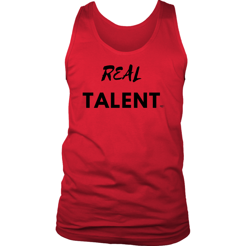 Real Talent Men Tank - Audio Swag