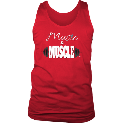 Music & Muscle Mens Tank