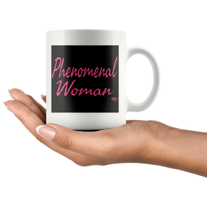 Phenomenal Woman Mug - Audio Swag