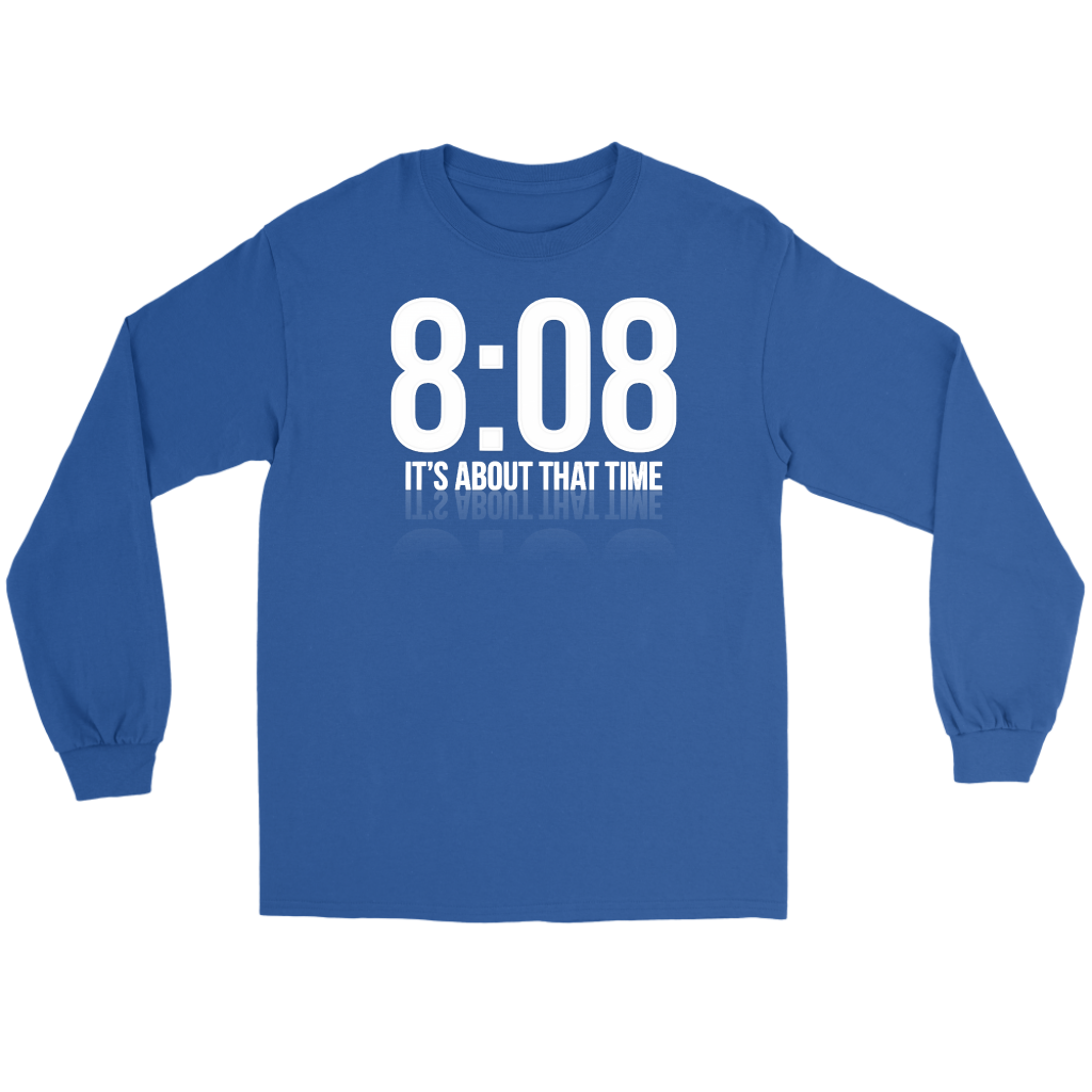 Its About That Time Long Sleeve Tee - Audio Swag