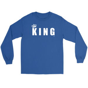 King Long Sleeve T-shirt - Audio Swag