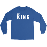 King Long Sleeve Tee - Audio Swag