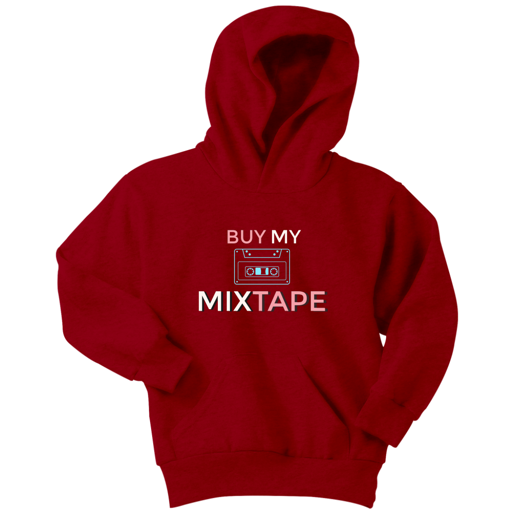 Buy My Mixtape Youth Hoodie - Audio Swag