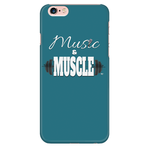 Music & Muscle iPhone Phone Case - Audio Swag