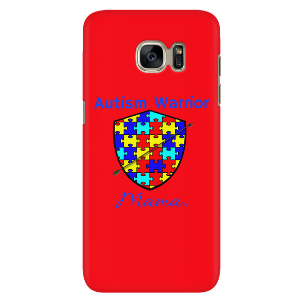 Autism Warrior Mama Galaxy Phone Case - Audio Swag