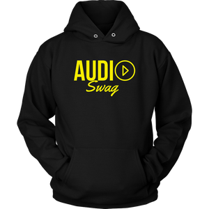 Audio Swag Yellow Logo Hoodie - Audio Swag