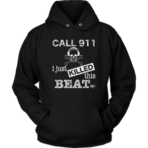 I Just Killed This Beat Hoodie - Audio Swag