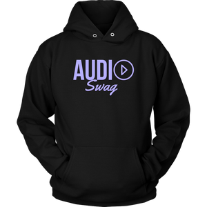 Audio Swag Lavender Logo Hoodie - Audio Swag