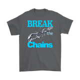Break The Chains Mens T-shirt - Audio Swag