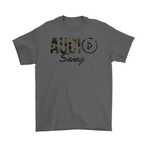 Audio Swag Camo Logo Mens T-shirt - Audio Swag